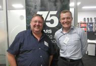 Rockhampton Office Launch Cameron Franklin and Stephen Whitaker