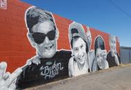 A mural in Broken Hill NSW