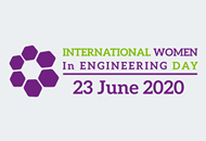 International Women in Engineering Day 2020 logo